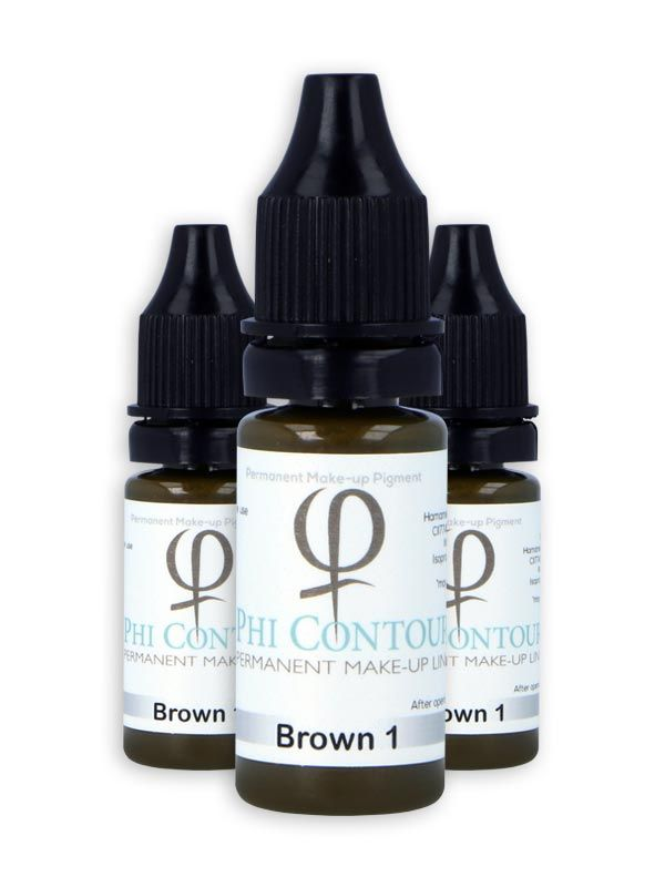 PhiContour Brown 1 10 ML - Jurgita Jasiunaite